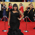 'Glee's' Amber Riley (pictured) and Jenna Ushkowitz