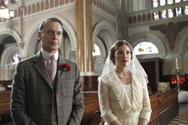 "A scene from ""Boardwalk Empire,"" which won the SAG Award for outstanding performance by an ensemble in a drama series."