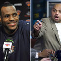 LeBron James and Charles Barkley