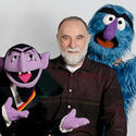Jerry Nelson voiced Count von Count, left, and Herry Monster on 'Sesame Street.'