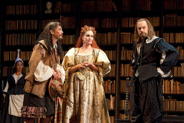 2 nominations overall, including:<br> <br> Joanna Lumley: Best performance by an actress in a featured role in a play<br> <br> <i>From left: Mark Rylance, Joanna Lumley and David Hyde Pierce.</i>