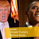 Donald Trump versus President Obama