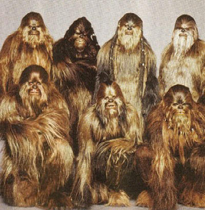 "<b>'The Star Wars Holiday Special'</b> (1978)<br> <br> <b>Creature:</b> Wookiees<br> <br> <b>Stan's touch:</b> Winston was already an Emmy winner when he was tasked with expanding the ""Star Wars"" Wookiee family beyond Chewbacca. The little-seen TV special took Han, Luke and company to the Wookiee planet of Kashyyyk."