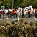Political tensions in Honduras