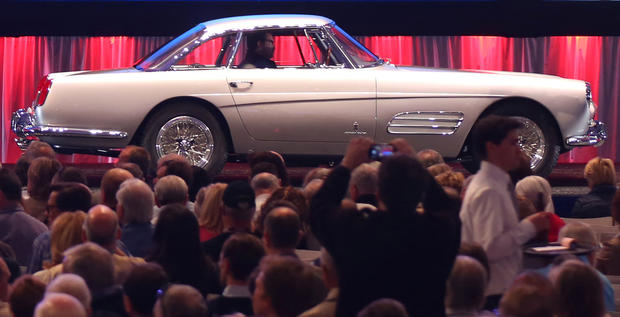 This 1958 Ferrari 250 GT Coupe Speciale sold for $2,365,000 at Gooding & Co.'s 2013 Scottsdale Auction.