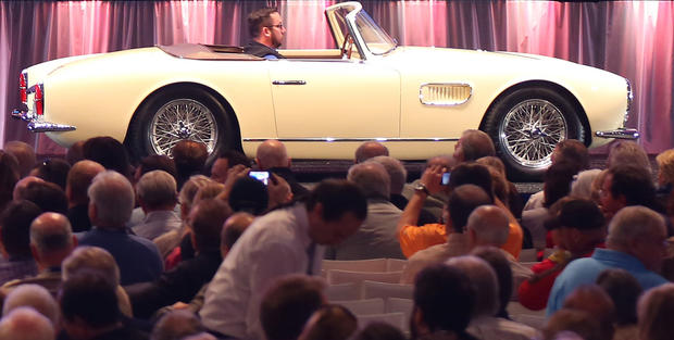 A 1957 Maserati 150 GT Spider sold for $3,080,000, a world record for a Maserati 150 GT Spider, at Gooding & Co.'s 2013 Scottsdale Auction.