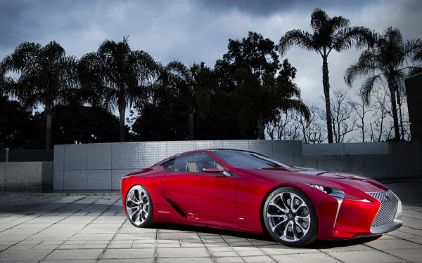 The Lexus LF-LC was unveiled at the Detroit Auto Show.