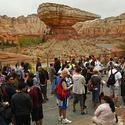 Waiting for Radiator Springs Racers at Cars Land