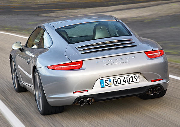"The 911 S will still have a 3.8-liter, six-cylinder boxer engine, now tuned to put out 400 horsepower and 325 pound-feet of torque. That's an increase of 15 for both metrics over the outgoing 911 S. Porsche says this version will do 0-60 in 4.1 seconds; 3.9 seconds with an optional package. The price of the base 911 S jumps from $91,900 to $96,400. Stay tuned in the coming months for a full review.<br> <br> --David Undercoffler / <a href=""https://twitter.com/LATimes_driven"">@LATimes_Driven</a>"