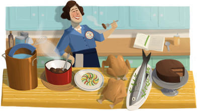 "Tributes to the chef were widespread as Julia Child was remembered on the 100th anniversary of her birth. <br><b>More: </b><a href=""http://www.latimes.com/news/nation/nationnow/la-na-nn-julia-child-20120815,0,5191213.story"" target=""_blank"">Julia Child taught Americans to cook without fear</a>"