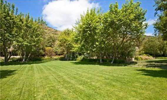The Malibu property encompasses 3.45 acres.
