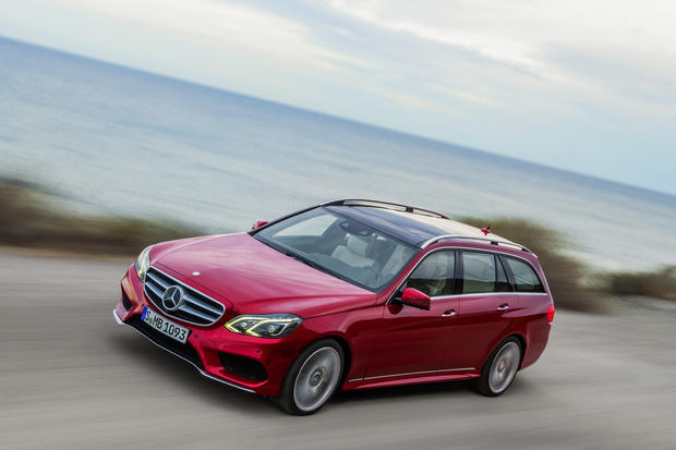 The 2014 Mercedes-Benz E-Class station wagon will be officially unveiled at the 2013 Detroit Auto Show in January.