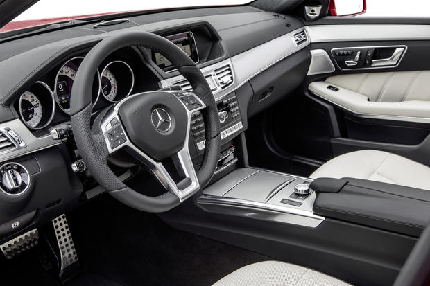 The interior of the 2014 Mercedes-Benz E-Class.