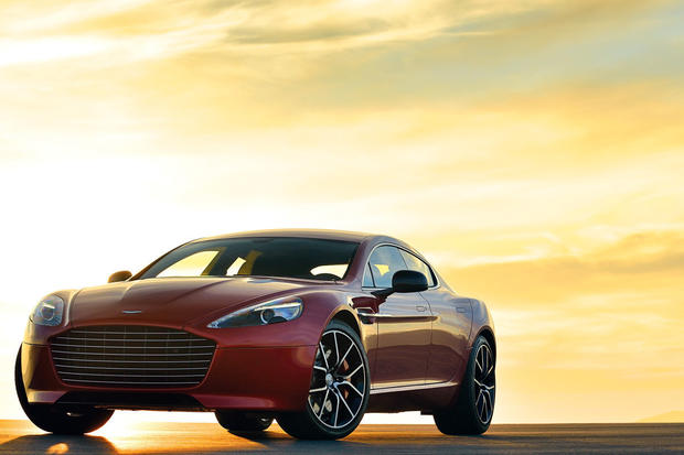 Aston Martin will replace the Rapide with the Rapide S, which now has a 550-horsepower V-12 engine and can do zero-60 mph in 4.7 seconds.