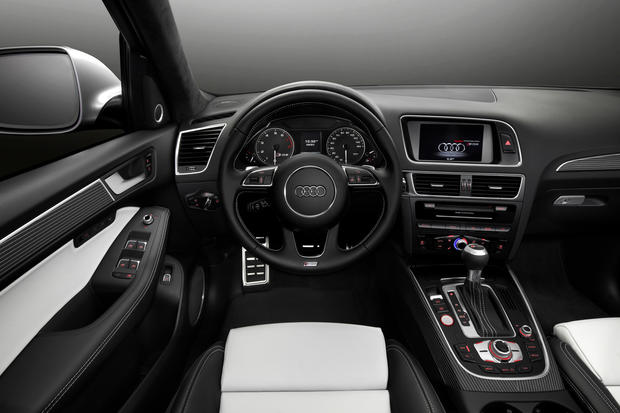 The Audi SQ5 has a supercharged V-6 making 354 horsepower and 346 pound-feet of torque.