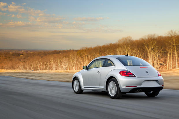 #1: In Los Angeles, 50% of people registering a Volkswagen Beetle for 2012 were women.