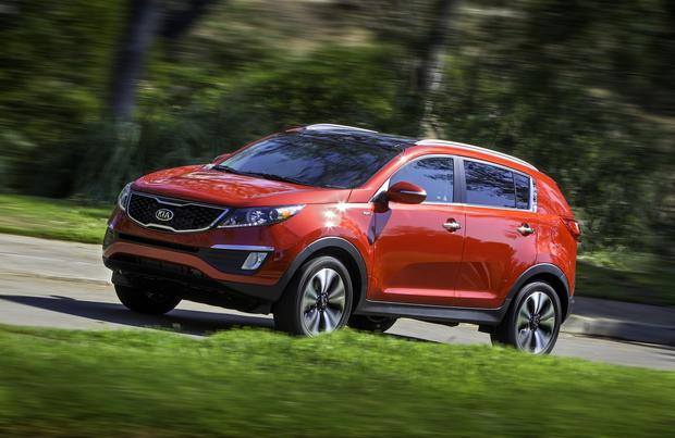 #6: In Los Angeles, 46% of people registering a Kia Sportage for 2012 were women.