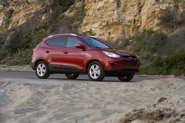 #7: In Los Angeles, 46% of people registering a Hyundai Tucson for 2012 were women.