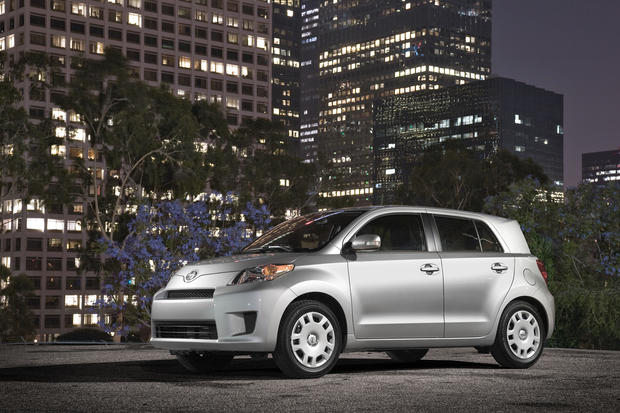 #3: In Los Angeles, 48% of people registering a Scion xD for 2012 were women.