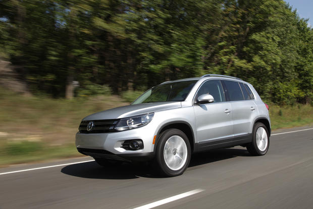 #4: In Los Angeles, 46% of people registering a Volkswagen Tiguan for 2012 were women.