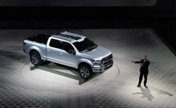 Ford unveiled the Atlas Concept truck Tuesday at the Detroit Auto Show. The vehicle is a strong indication of what the next F-150 truck will look like.