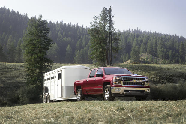 Chevrolet's all-new 2014 Silverado pickup will go on sale in mid 2013.