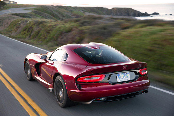 "At $97,395, the SRT Viper is the most expensive car on the list. Says Hagerty: ""The redesigned coupe has more power than ever with its 8.4 liter V10 engine, 640 horsepower and absurd 600 lb-ft of torque — 'the most torque of any naturally aspirated engine currently produced,' according to Chrysler. We applaud the Viper as one of the last living examples of the once-celebrated mantra of ""there is no replacement for displacement.'"""