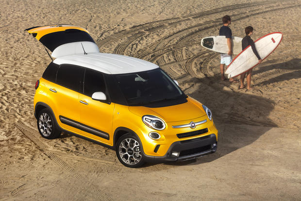 The all-new Fiat 500L Trekking edition.
