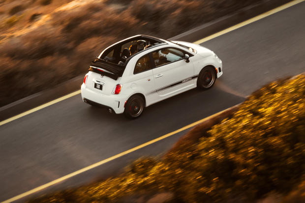 The all-new Fiat 500c Abarth.
