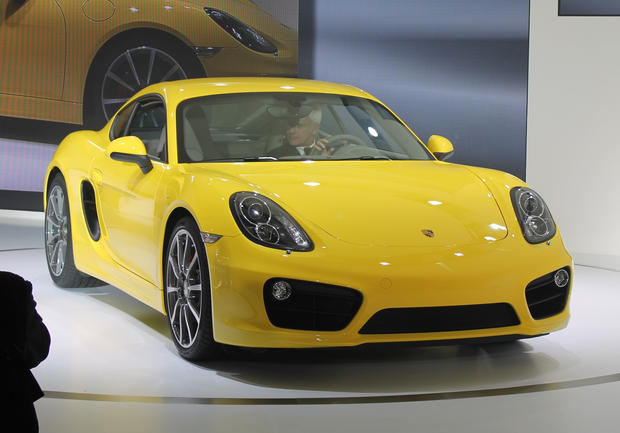 The 2014 Porsche Cayman makes its world debut at the 2012 L.A. Auto Show.