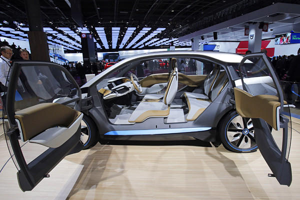The i3 is expected to hit the market in 2013, though availability and pricing haven't been announced.