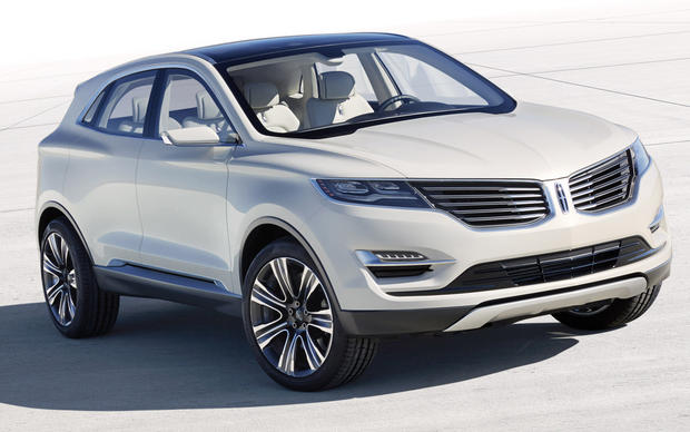 This Lincoln MKC Concept is a small crossover SUV based on the Ford Escape. It made its world debut at the 2013 Detroit Auto Show.