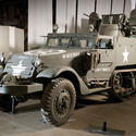 "1944 White M16 half-track ""meat-chopper"""