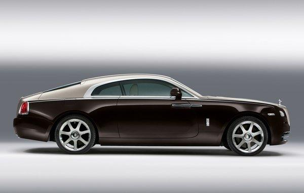 The Wraith is the fastest and most powerful Rolls ever made, with a twin-turbocharged V-12 engine making 624 horsepower.