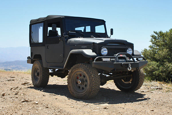 The FJ40 starts at around $127,000. The model we tested was closer to $148,000. This model has 420 horsepower and 458 pound-feet of torque from a custom-spec 5.7-liter V-8.