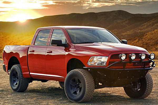Why should Ford's Raptor have all the fun? That's the thinking behind an aftermarket kit shown at SEMA for 2009 to 2013 Dodge Ram 1500 trucks.