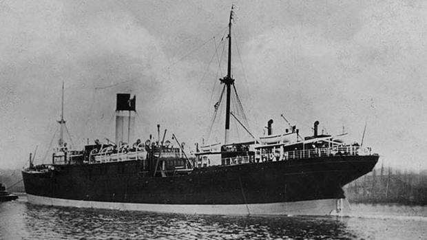The Hong Moh was a passenger steamship that ran aground on the southern coast of China during stormy weather on March 3, 1921, killing about 1,000 people. The ship broke in two before help arrived.