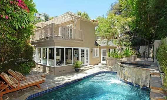 """Pretty Little Liars"" actress Ashley Benson bought a home in Hollywood Hills West for $2.2 million in October 2012. Earlier owners of the property include Dave Stewart of Eurythmics and pop star Kylie Minogue. <br><b>More: </b><a href=""http://articles.latimes.com/2012/oct/18/business/la-fi-hotprop-ashley-benson-20121018"" target=""_blank"">The house features 3,085 square feet of living space and a spa</a>"