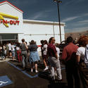 Most popular large fast-food outlet with 100 to 5,000 U.S. locations