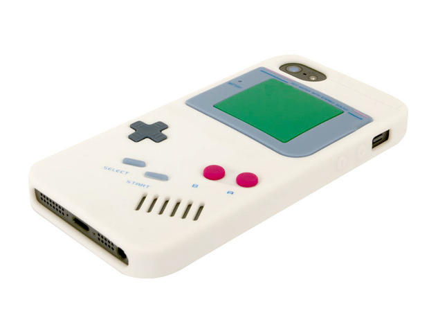 The Rocketcases' silicone Game Boy Retro is made to look like the Nintendo handheld from the good 'ol days. It has raised buttons and is instantly recognizable. Other popular Rocketcases you've likely seen include the cassette tape and a version that looks like a Nintende NES controller.