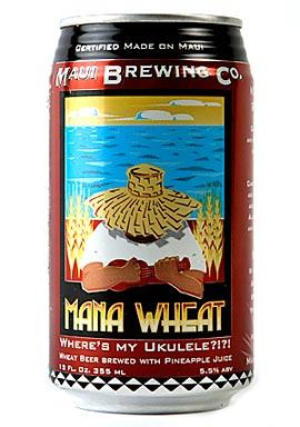 "The exotic combination of bananas, clove and pineapple makes an excellent foil for Cantonese or Thai, but this is a well-behaved beer that also gets along fine with chicken or macaroni and cheese. <a href=""http://www.latimes.com/features/food/la-fo-bom-maui-brewing-mana-wheat-20110505,0,238056.story"" target=""_blank"">Click here for more, plus pricing.</a>"