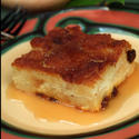 Handlebars Food & Saloon's whiskey bread pudding