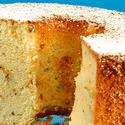 Hazelnut-orange chiffon cake