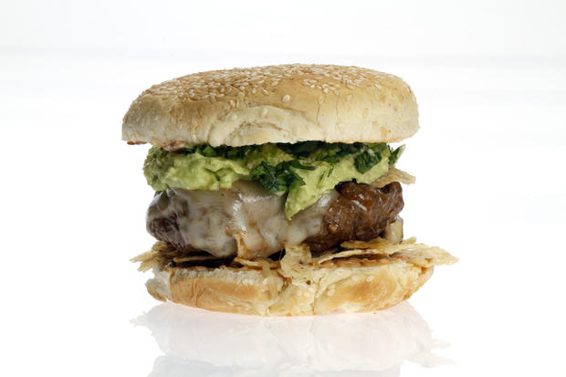 "This is one of the winners in the L.A. Times' first Battle of the Burgers contest. <a href=""http://www.latimes.com/features/food/la-fo-burgerbattlerec5-20110624,0,1555664.story"" target=""_blank"">Click here for the recipe.</a>"