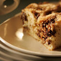 Sour cream coffeecake