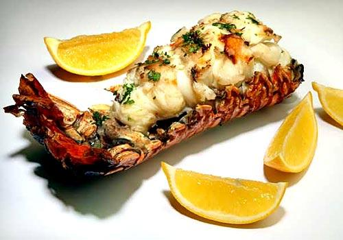 Offer a generous supply of Meyer lemon wedges with a boiled whole Maine lobster and drawn butter.