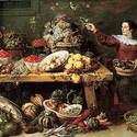 """Still Life with Fruit and Vegetables,"" by Flemish painter Frans Snyders"