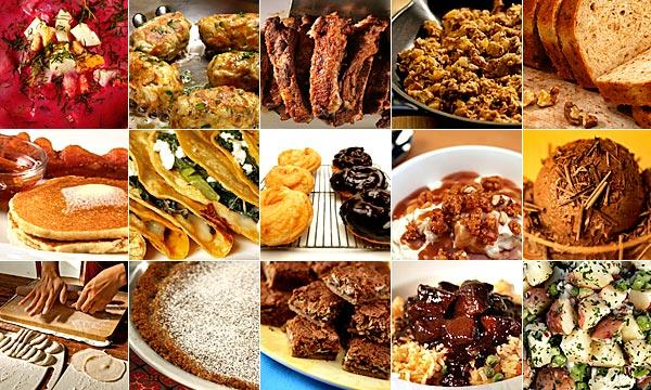 The L.A. Times Food section published almost 300 recipes in 2010 -- more than most cookbooks. Here are our favorites.