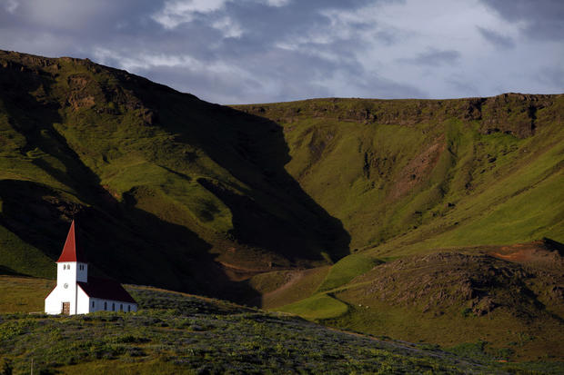 A chapel in south Iceland.