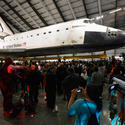 Space Shuttle Endeavour exhibit
